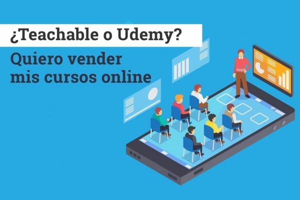 teachable o udemy para vender cursos online
